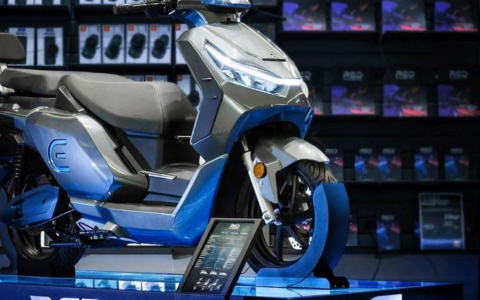 The French manufacturer who dreams of being the leader of electric scooters (January 2021)